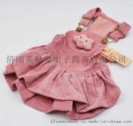 温州宠物服饰宠物披肩唐装裙