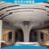 柱子造型弧形格柵板圓柱造型鋁板 佛山圓柱造型鋁板 仿木紋弧形格柵柱子造型圓柱造型鋁板