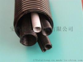 开口塑料波纹管加厚国标直径34.5