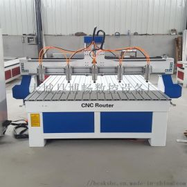 1325木工浮雕设备 数控雕刻机 多头电脑雕刻机