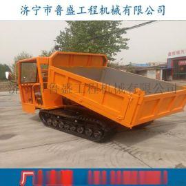 3吨橡胶履带运输车 水田果园履带车 上山虎履带车