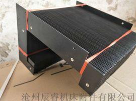 玻璃机械异型风琴防护罩加工,伸缩式风琴护罩制造