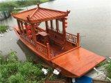 河北邯郸景区开发水上游船项目 旅游木船生产厂家