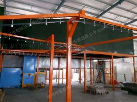 福建厂家定制涂装设备 悬挂生产线静电喷涂流水线