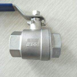 不锈钢二片式球阀 DN40 2PC 11/2寸