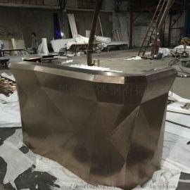 不鏽鋼鍍金酒櫃恆溫酒櫃定制廠家