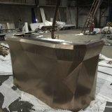 不鏽鋼鍍金酒櫃恆溫酒櫃定製廠家