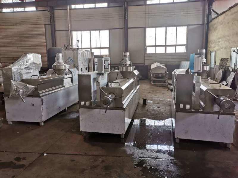 素牛肉 素雞加工設備 大豆組織蛋白熟化膨化機廠家直銷