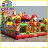 充气城堡室外新款儿童充气玩具跳床大型娱乐城堡儿童广场充气玩具