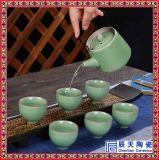 淡雅青花瓷茶具, 定做精美礼品茶具, 日用陶瓷茶具