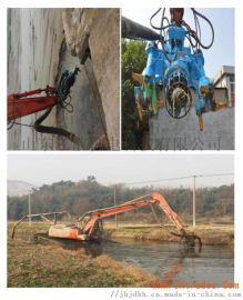 挖掘机液压搅吸机河道抽砂泵吸淤泥泵