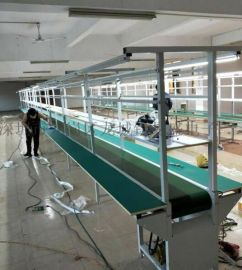 东莞流水线厂家 PVC皮带线 防静电装配线