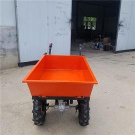 车斗可拆卸的助力车 农场饲料运输翻斗车