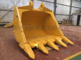 挖掘机配件PC1250-7立方焊达岩石挖斗