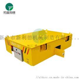烘干室15吨无轨胶轮车 AGV无人自动小车**度高