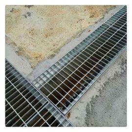 格栅板板盖板 集水坑镀锌格栅板 宝旭格栅板平台