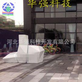 商场广场街道绿化玻璃钢花盆 户外美陈组合花盆摆件 园林景观花器
