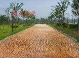 桓石2017082山東壓花地坪專用脫模粉仿石壓印路面材料彩色混凝土道路壓模