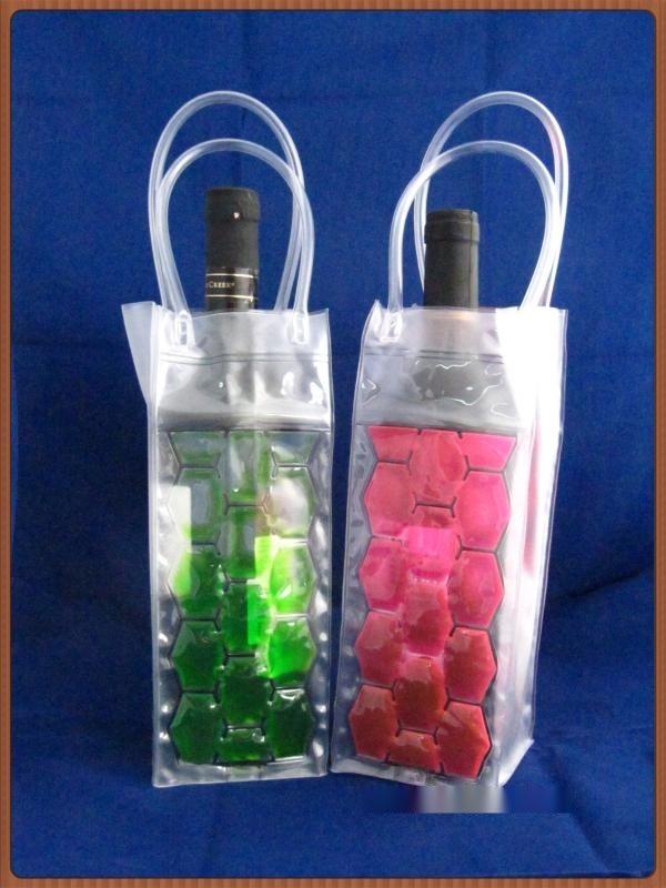 PVC红酒冰袋 冷冻袋 凝胶冰酒袋 冰镇红酒冰套