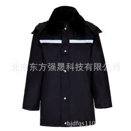 廠家直銷 服裝批發 多功能大衣防寒大衣加厚勞保特勤大衣冬季制服
