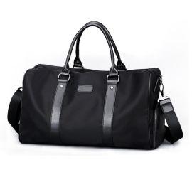 厂家定做旅行包男士大容量健身包时尚旅行包定做可加logo