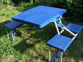 ABS加厚型塑料折叠桌
