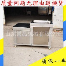 全自动腊肠肉类绞肉灌肠机 成套香肠加工机器 卧室液压灌肠机大型