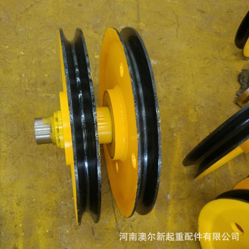 专业加工起重机动定滑轮组 5T-100T滑轮组