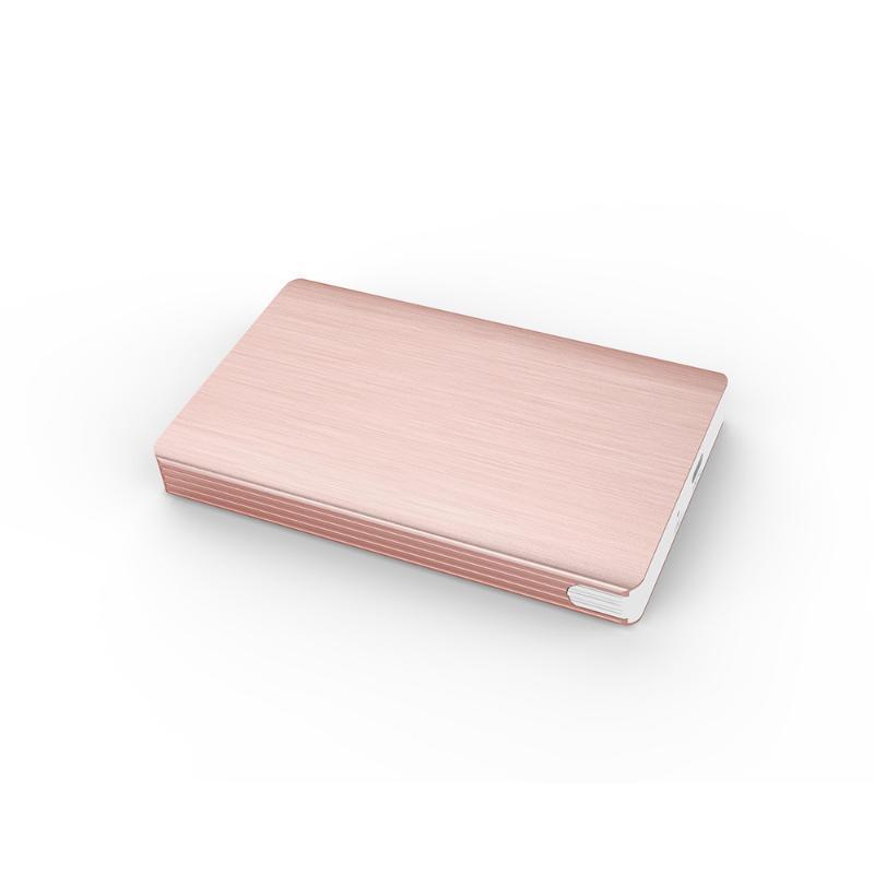 2.5寸免螺丝工具移动USB3.0 时尚外观金属拉丝工艺 串口移动硬盘