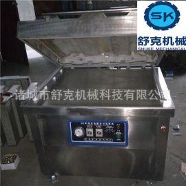 连续式真空包装机 dz/1000型滚动式真空包装机 甜玉米真空包装