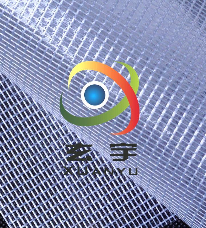 廠家供應0.3PVC夾網布透明(文件袋 防塵罩專用)