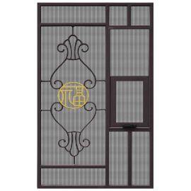 铝合金铝窗花厂家加工定制600*1200mm铝窗花