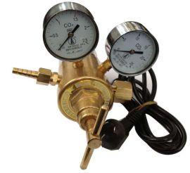 二氧化碳电加热双表头减压器YQC-03R二氧化碳双表加热减压阀