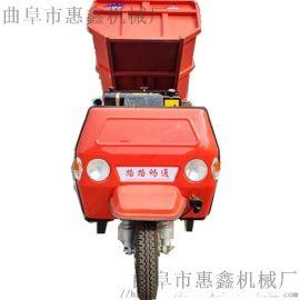 公路拉料用三轮翻斗车 施工高效的柴油三轮车