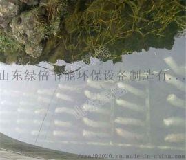 一种专门针对河道变臭水质变差的生物填料绳仿生水草