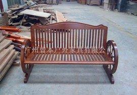 户外家具 木制品 公园椅 公共座椅