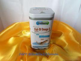 鱼肝油铁罐|方形铁罐|**茶叶罐|内塞盖咖啡罐|马口铁罐|