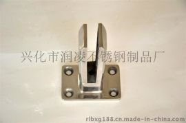 316不锈钢地脚玻璃夹 泳池栏杆配件厂家价格直销 品牌润凌