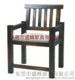 東莞直銷火燒木餐椅 碳化木餐椅 餐廳農家樂酒吧復古火燒木餐椅