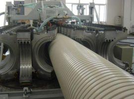 锋达塑机PE双壁波纹管生产线