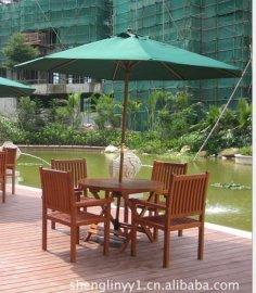 厂家供应户外休闲桌椅实木餐桌椅