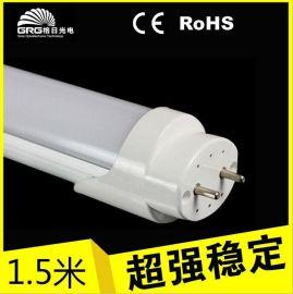 中山led日光灯堵头,质保三年t8led灯管1.5米18w