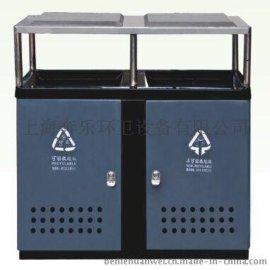 上海奔乐环卫设备1000L冲孔垃圾桶桶