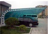 厂家大量批发耐力板 公交站台雨棚