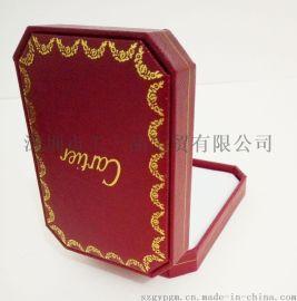 厂家** 卡地亚同款 进口特种纸八角首饰盒 精美礼品盒