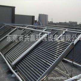 专业免费提供热水工程设计与安装 家用、商用、工业用太阳能热泵热水器 真空管平板热水器 空气能热水工程