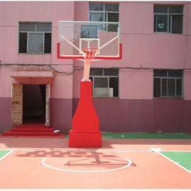 手动液压篮球架户外休闲标准篮球架室内外篮球架 户外健身器材厂家