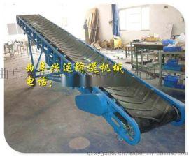 圆管大架移动皮带输送机 爬坡皮带输送机 移动方便 高低可调
