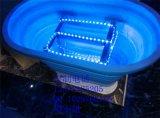 玻璃钢吧台 树脂吧台 1500*900mm白色胶囊型玻璃钢吧台