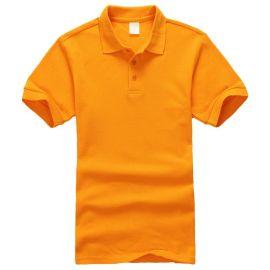 新款时尚纯棉圆领T恤广告衫 春夏短袖多色T恤可来图定制logo